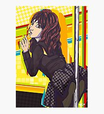 Rise Kujikawa - The Waifus for sale Line Photographic Print