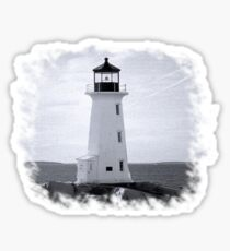 Peggy's Cove Lighthouse Tee Sticker