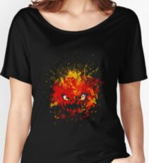 Bomb/Piros Women's Relaxed Fit T-Shirt
