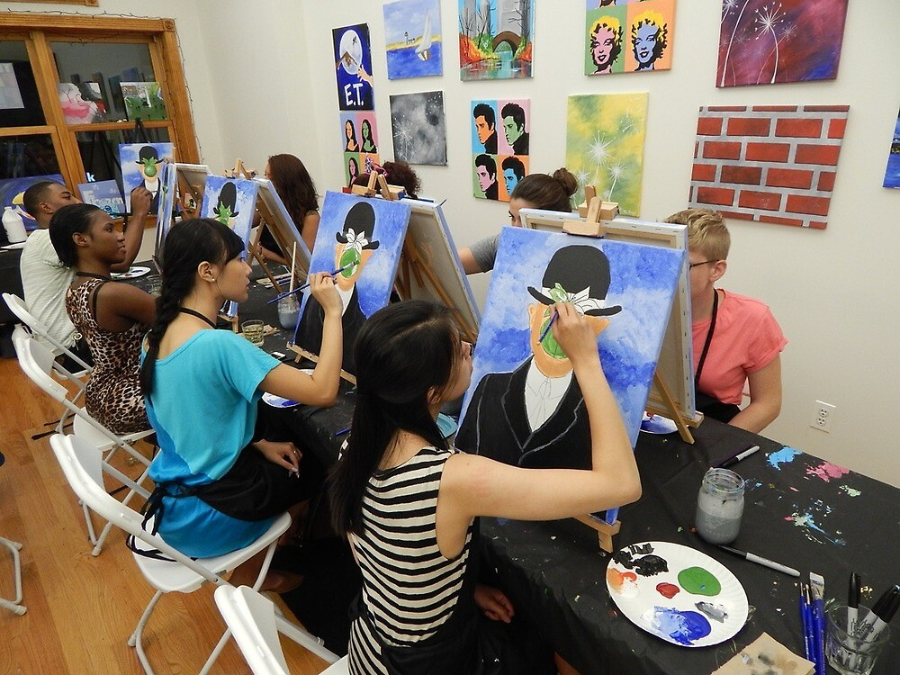 Canvas Painting – One of the things to do in NYC by EricDanielson