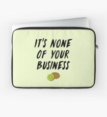 HS1 - Styles Album Kiwi Lyric Design Laptop Sleeve