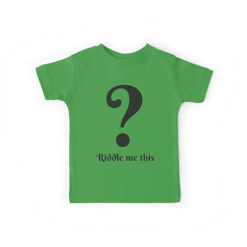 Riddle Me this by Holly Coleman