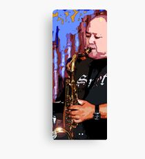 Great Ray on the Horn Canvas Print