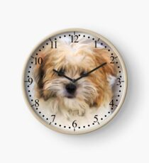 Limited Addictions Cute Puppy Wallclock Clock