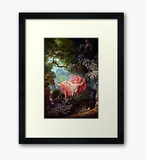 Happy Accidents of the Swing Framed Print