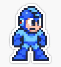 other blue boy, the metal one Sticker