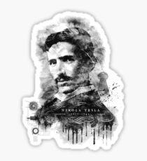 Nikola Tesla, Master of Lightening Sticker