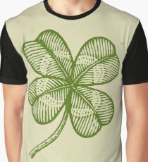 Vintage lucky clover Graphic T-Shirt