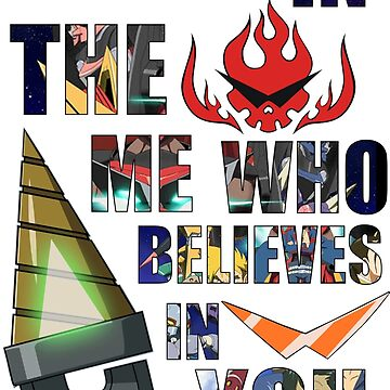 Gurren Lagann Kamina Quote by cassarie2