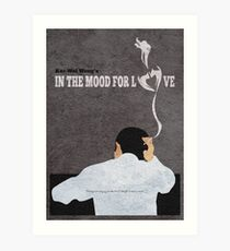In the Mood for Love Minimalist Alternative Movie Poster Art Print