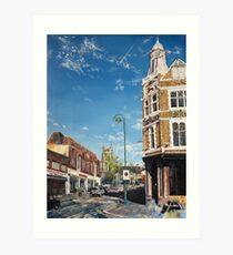 Leytonstone High Road Art Print