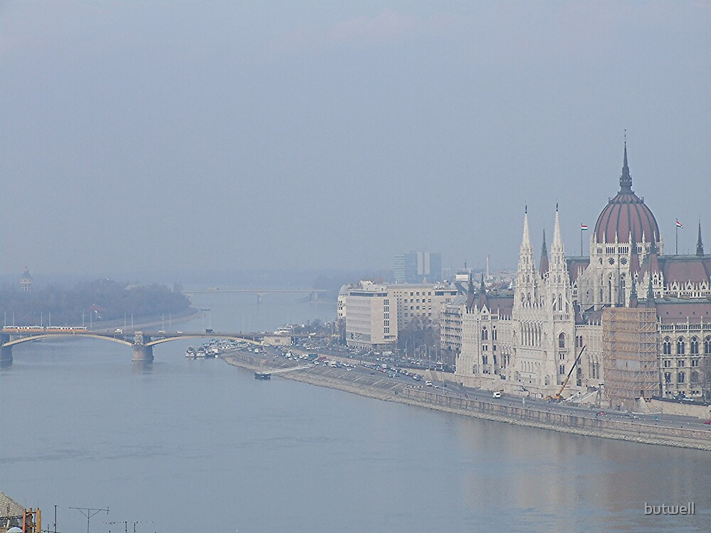 winter on the Danube by butwell
