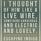 Escaping Indigo quote in grays by Eli Lang