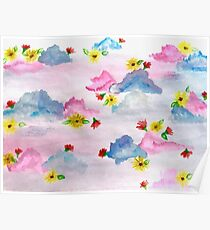 Sky Blooms Poster