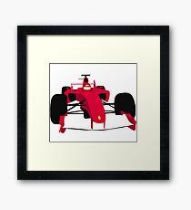 2000's F1 car Framed Print