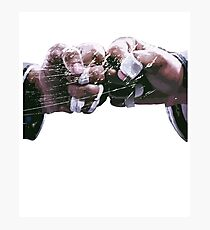 BJJ Fist Bump Respect Brazilian Jiu Jitsu Photographic Print