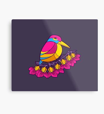 Pride Birds - Pansexual Metal Print