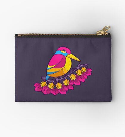 Pride Birds - Pansexual Zipper Pouch