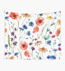 Floral Madness Wall Tapestry