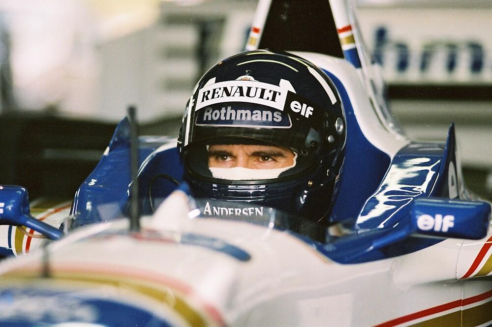 Damon Hill - Racing Driver by photobymdavey