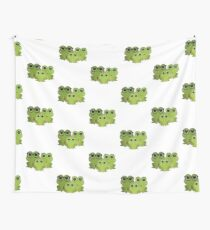 Frog Family Wall Tapestry