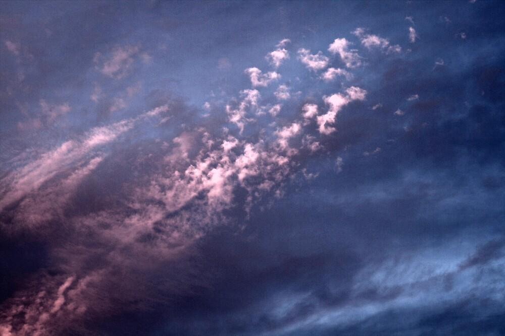 Blue Sunset over New Zealand by Craig Booker
