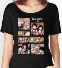 Hooky Comic Page Color Women's Relaxed Fit T-Shirt