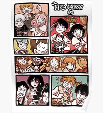 Hooky Comic Page Color Poster