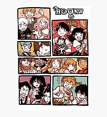 Hooky Comic Page Color Photographic Print