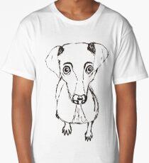 Simplistic Dog Long T-Shirt