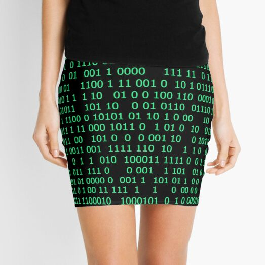 Binary numeral system Mini Skirt