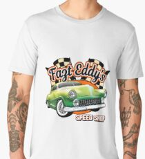 Fast Eddy Speed Shop Men's Premium T-Shirt