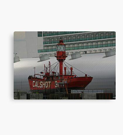 LV Calshot Spit Canvas Print