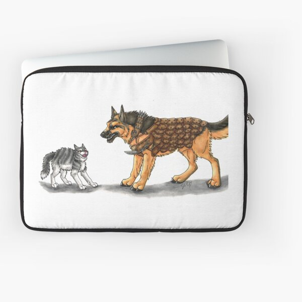 Max, defender from cats! Laptop Sleeve