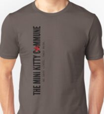 Mini Kitty Minimal Street Unisex T-Shirt