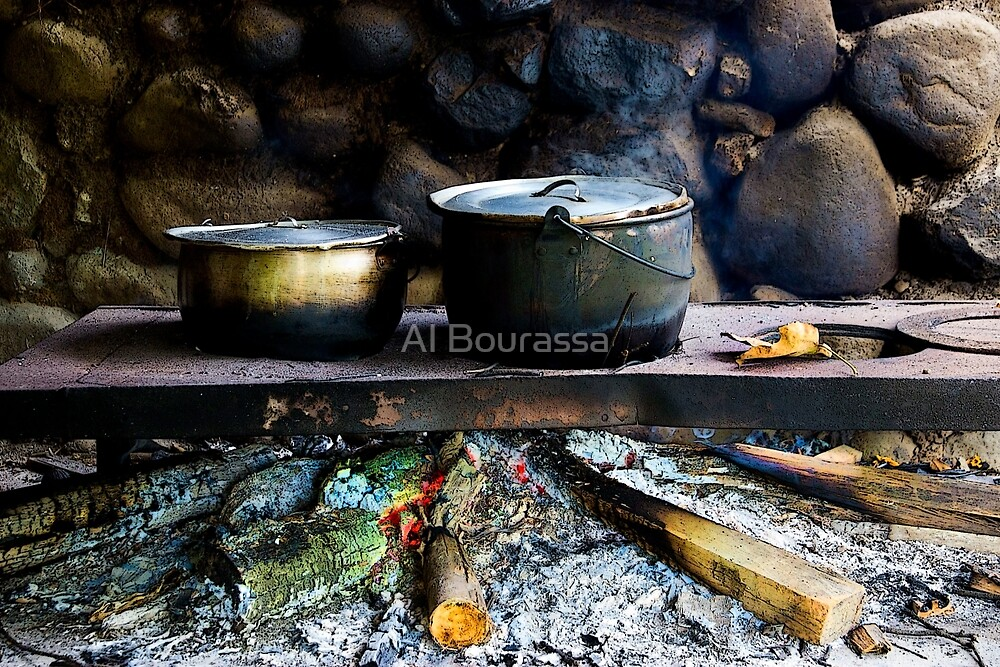 A Watched Pot Never Boils by Al Bourassa