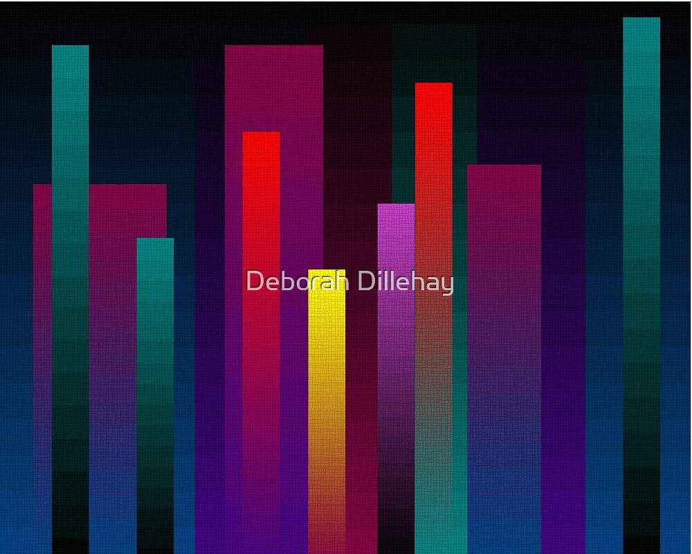 More Vertical Rectangular Blends by Deborah Dillehay