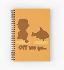 Loading Fish! Spiral Notebook