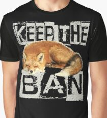 KEEP THE BAN 2 Graphic T-Shirt