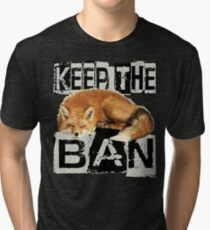 KEEP THE BAN 2 Tri-blend T-Shirt