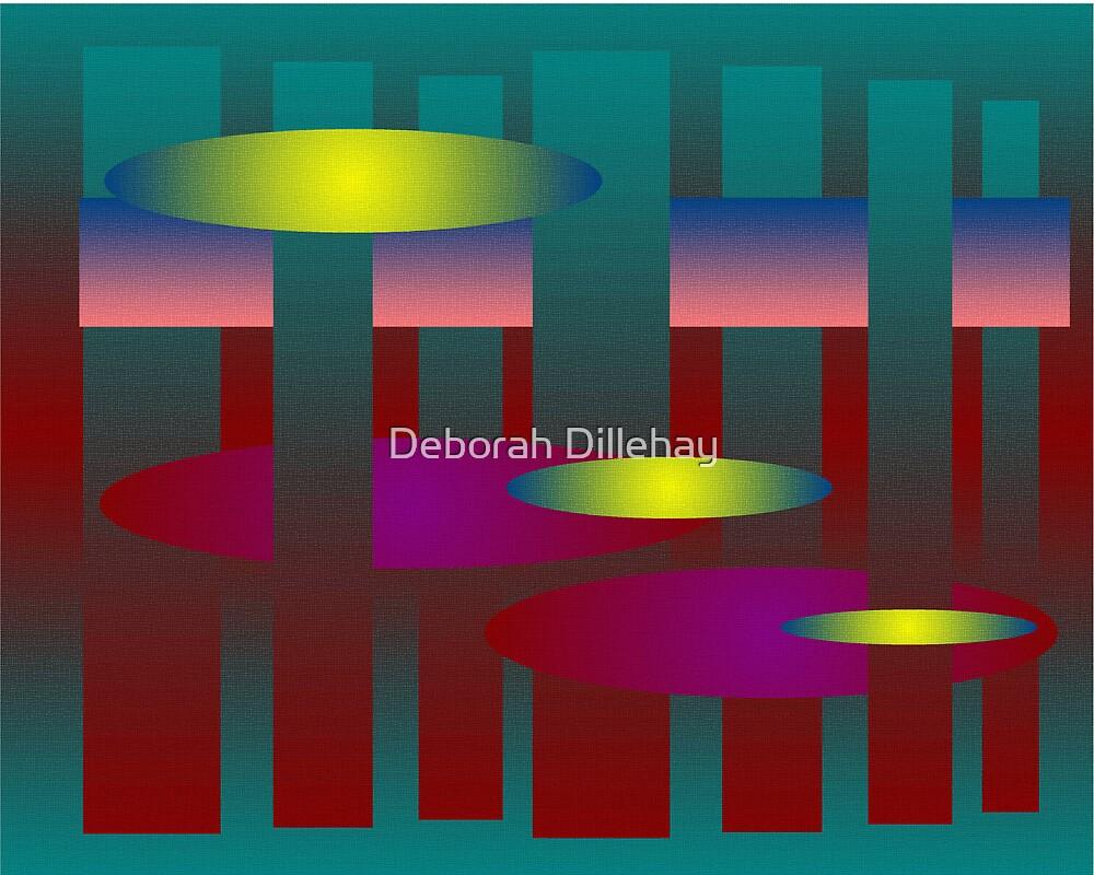 Ellipses on Rectangles by Deborah McCormick