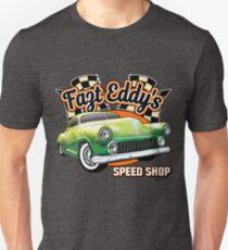 Fast Eddy Speed Shop Unisex T-Shirt