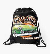 Fast Eddy Speed Shop Drawstring Bag