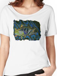 Abstract Snook Women's Relaxed Fit T-Shirt