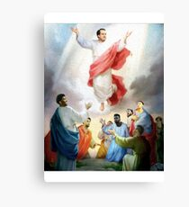 Hinkie Died For Our Sins Canvas Print