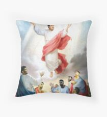 Hinkie Died For Our Sins Throw Pillow