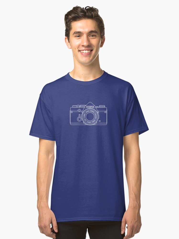 Vintage Film Photography: Olympus OM-1 Classic T-Shirt Front
