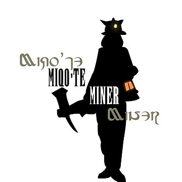 Miqo'te Miner (F) by quirkyquail