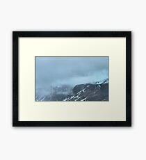 Out There Among The Clouds Framed Print