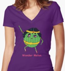 Wonder Woman Melon Funny T-shirt